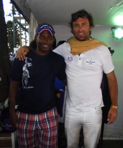 Jamie Demericas and Alfredo Cappella Barabucci