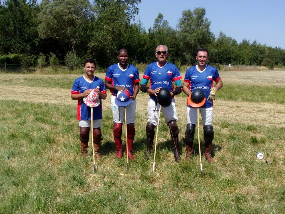 Coupe Du Vignoble 2019 Team Photo Texas SBA Polo Team