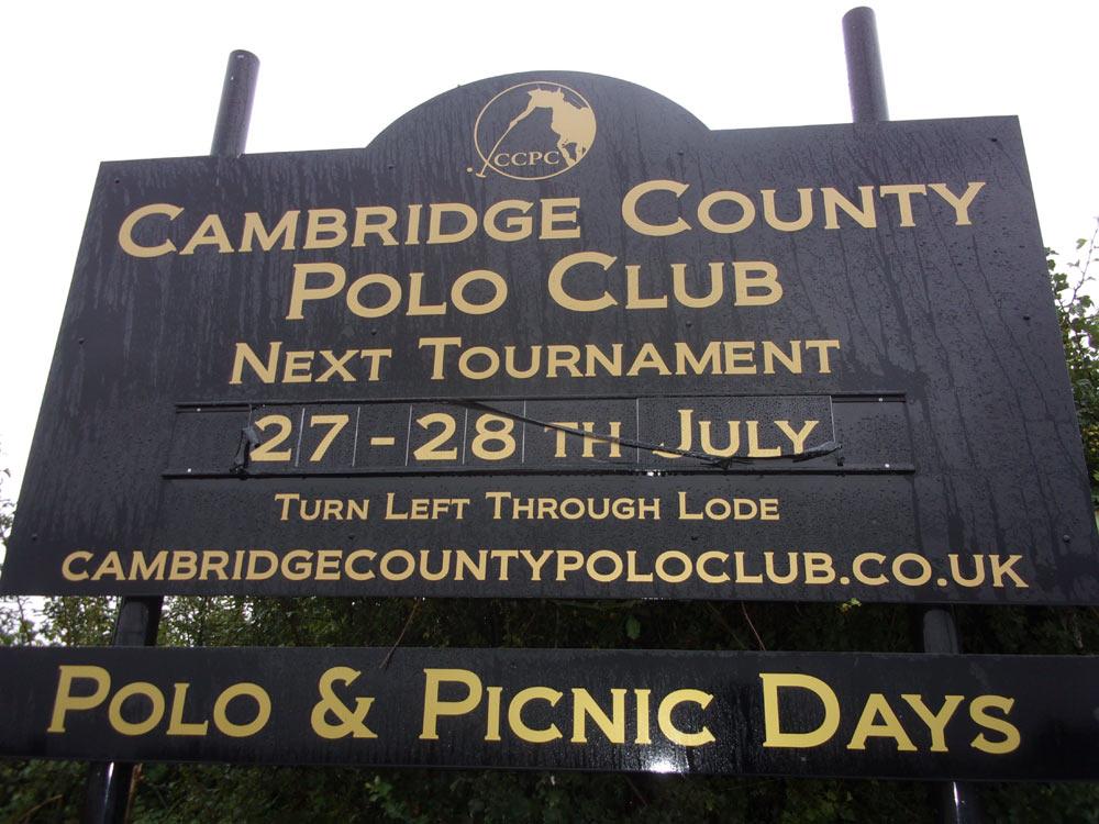 Cambridge County Polo Club Texas SBA Polo Team Calendar