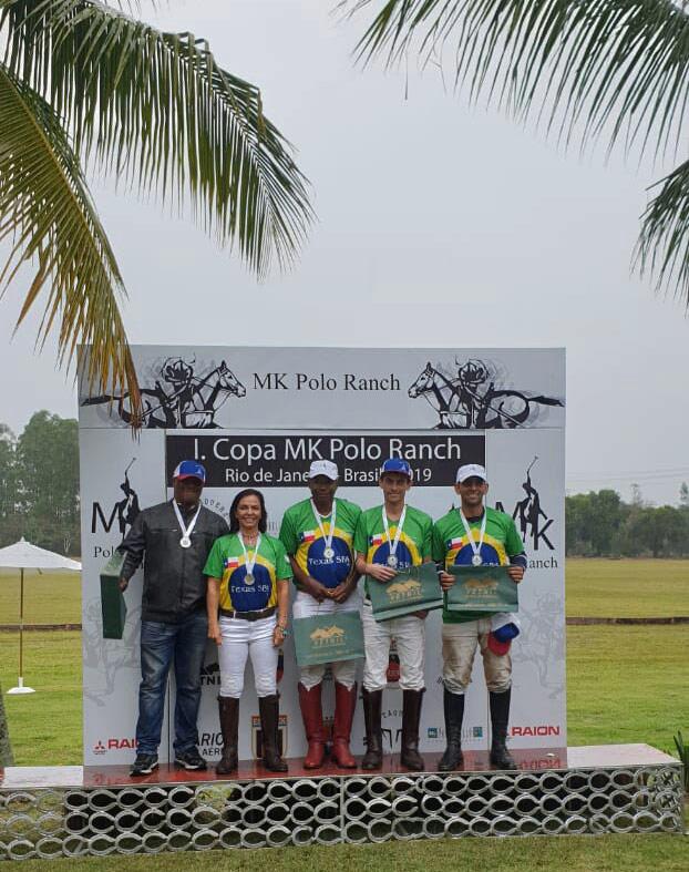 Texas SBA Polo Team at MK Polo Resort Rio de Janiero Brasil