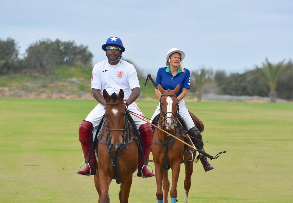 Jamie Demericas versus Julie @ PGH La Palmeraie Polo Club