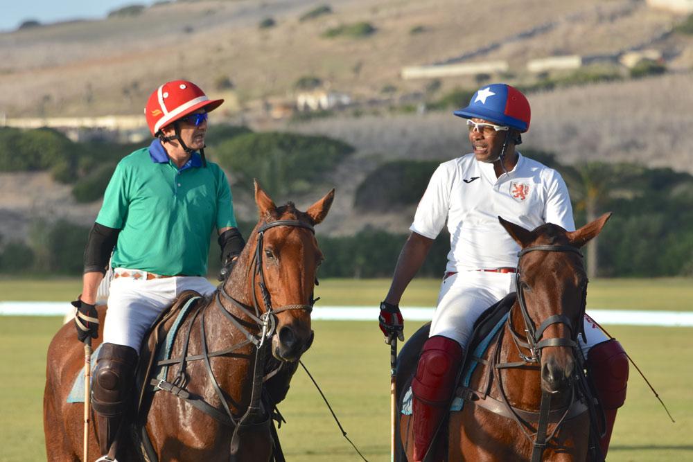 Swiss Ambassador Massimo Baggi versus Jamie Demericas @ PGH La Palmeraie Polo Club