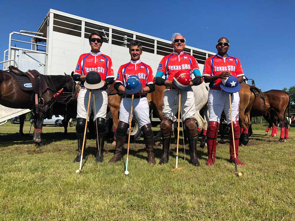 Coupe Du Vignoble 2019 Team Photo Texas SBA Polo Team