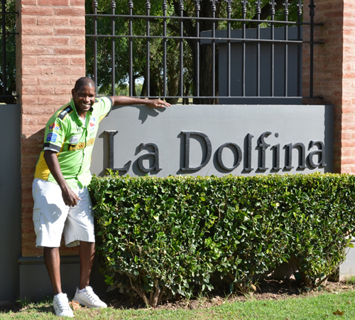 Jamie Demericas at La Dolfina