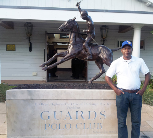 jamie demericas at guards polo club