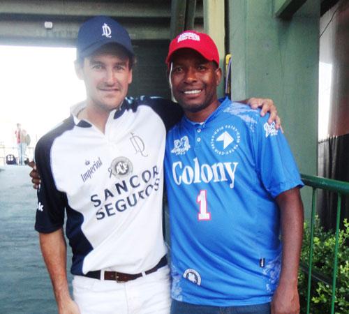 Jamie Demericas and Juan Martin Nero