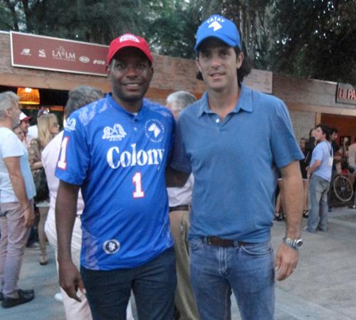Jamie Demericas, Nacho Figueras