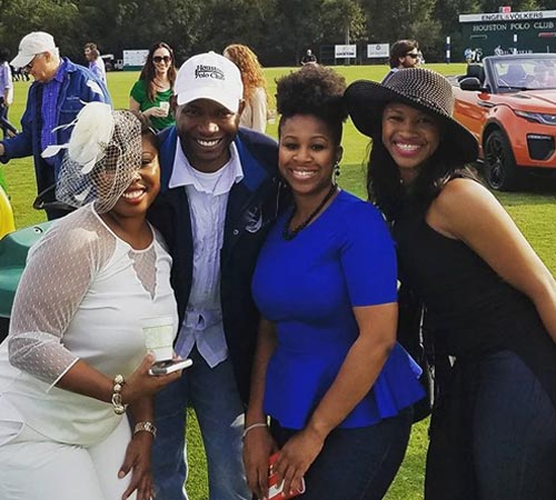 Jamie Demericas and Black Women Polo Fans @ Houston Polo Club, USA