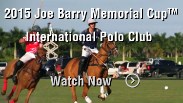 2015 Joe Barry Memorial Cup: International Polo Club